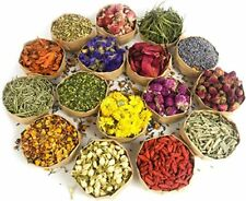 Dried Flowers, Natural Dried Flower Herbs Kit for Bath, Soap Making, Candle