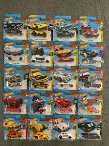 Hot Wheels Bundle Job Lot of 20 Vehicles - New on Cards - Joblot 2
