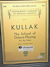 KULLAK The School of Octave-Playing For the Piano Section 1: Preliminary School