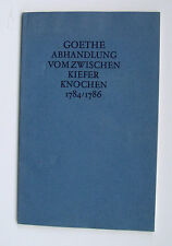 Wolfgang von Goethe mâchoire os du crâne weimar squelette mâchoire anatomie