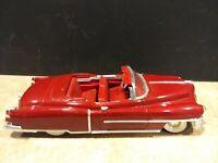 1953 CADILLAC ELDORADO Convertible. RED. By ANSON. DIE CAST. SCALE 1:18. No Box.