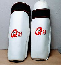 tekno Q21 proseries Martial Arts Shin Guards large L lightly used