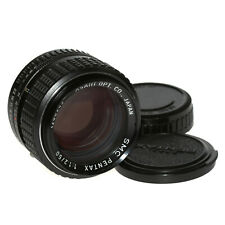 Asahi Smc Pentax 50mm 1: 1,2 Intensité Lumineuse Normalobjektiv F.Pentax Pk de