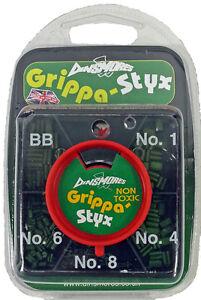 DINSMORES GREEN 5 WAY GRIPPA STYX SHOT DISPENSER,BB,1,4,6,8,STYLES,STOTZ