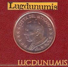 Vatican 2004 5 Centimes D'Euro FDC BU 85 000 exemplaires Provenant du BU RARE