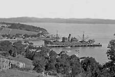 EDEN Wharf NSW cargo vessel KARETU  c1925-50 modern Digital Photo Postcard