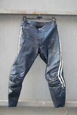 Pantalone pelle moto Tg ?? sportivo custom VINTAGE RACING cafe racer (cod.80)