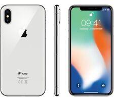 BRAND NEW APPLE iPHONE X  UNLOCKED SILVER 64GB- 12 MONTHS APPLE WARRANTY