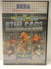 Master System-WWF WrestleMania Steel Cage Challenge (con embalaje original/o. Inst.) 10634288