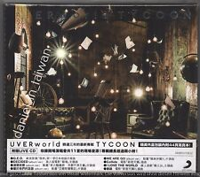 UVERworld: Tycoon (2017) 2-CD & 44p PHOTOBOOK NEW