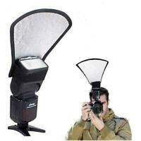 diffuser softbox silver/white-reflector For Canon Nikon-Pentax SLR Y4D4 Q4T5