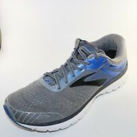 Brooks Mens Adrenaline GTS 18 Running Shoes Gray, Lace Up SZ 12