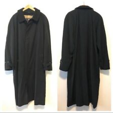 Burberry London Men's Lawrence Trench Coat Black 48R Pre-Owned