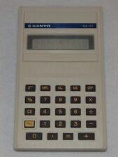 Vintage Retro Calculadora electrónica de Sanyo Cx 110 hecho en Japón
