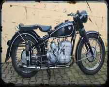 Bmw R 68 1 A4 Photo Print Motorbike Vintage Aged
