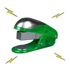 Electric Shock Toy Green Stapler Office Prank Joke Funny Trick Novelty Gag Gift
