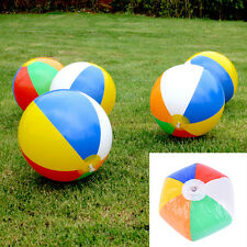 Baby Kids Beach Pool Play Ball Inflatable Educational Children Ball Toys LAUS
