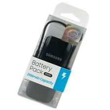 New Samsung Battery Pack 2100mah Capacity Mini Portable Power Bank Black