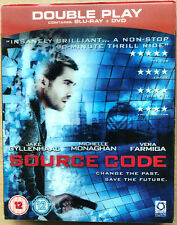 Source Code Blu-ray 2011 Time Travel Sci-Fi Ltd Ed w/ Lenticular Slipcover