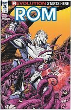 IDW ROM 3 SUB-C variant cover D featuring GI Joe *I USE FREE COMBINED SHIPPING!*