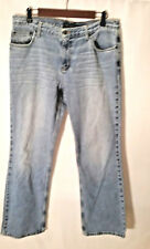 American Eagle Outfitters Women's Jeans Light Wash Faded Stright Leg Size 12