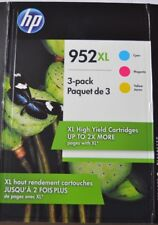HP 952XL (N9K30BN) High-Yield Original Ink Cartridges, Cyan/Magenta/Yellow (3 pk