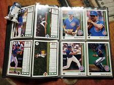 Baseball Card Set 1988 Chicago Cubs 29 Cards Sandberg Sutcliffe Dawson Grace