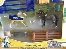 Breyer Collectable Horses Stablemate English Play Set