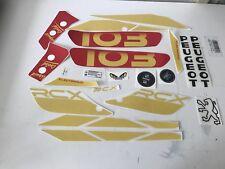 Kit autocollant peugeot 103 rcx de 1994 REF:MOB043