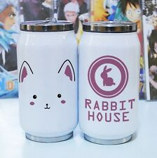 Is the Order a Rabbit? Tippy Stainless Steel Vacuum Thermos Flask Cup Travel Mug