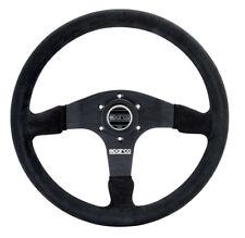 Sparco Steering Wheel 375 Black Suede 015R375PSN