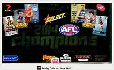 2014 Select AFL Champions 300 Game Case Card Cc52 Marcus Ashcroft (brisbane)