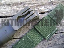 Olive Green VCRO Belt Loop for Mora Frost Clipper Knife Bushcraft Survival
