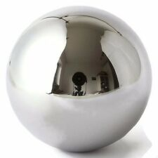 "One Large 4"" Inch Chrome Solid Steel Bearing Ball G100 / 9.45 Pounds"