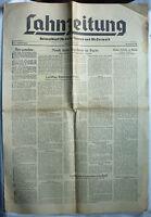 LAHNZEITUNG 11. Nov 1949 mit 8 Seiten ua Frauen Spiegel + Schiefer Turm Dausenau
