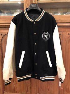Reversible Vintage All Star Converse Baseball Varsity Jacket Medium With Tags