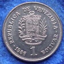 VENEZUELA - 1 bolivar 1986 Y# 52 Reform Coinage (1896-1999) - Edelweiss Coins