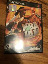 NBA Jam (PlayStation 2 PS2) Complete Black Label. Doesn't Work Cd Scratched