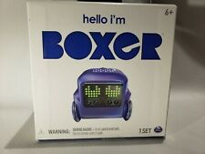 Hello I'm Boxer Tiny Bot Robot App-Controlled RC Remote Control Blue new sealed