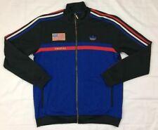 ADIDAS originals usa america olympics track jacket size XL trefoil flag logo