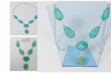 Turquoise Silver Necklace Indian Jewellery