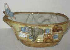 Louisville Stoneware Noah's Ark Soup Tureen with Ladle