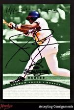 1997 Donruss Signature Autographs Millennium #65 Andruw Jones 476/900 AUTO