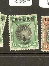 LABUAN (B0802) 5C BIRD  SG65  MOG