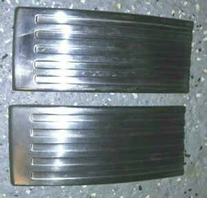 "- PAIR 1953 1954 Chevrolet Bel Air Rear Quarter Stripe Trim Pieces 6"" x 2 1/2"""