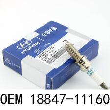 Genuine Hyundai OEM Denso Iridium Spark Plugs 18847-11160 (pack of 4)