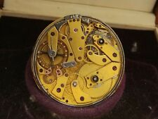 Breguet? etablissement mixte 47mm Quarter repeater y1853 pocket watch movement
