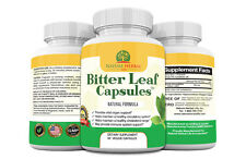 Bitter Leaf Capsules. 750 mg. Weight Loss & Wholebody Cleansing Supplement.