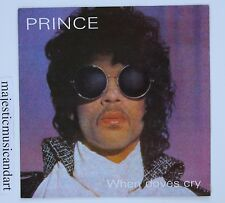 """STUNNING BEAUTIFUL PRINCE WHEN DOVES CRY 7"""" VINYL 17 DAYS 1984 OG N.MINT RARE"""