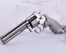 Popular Revolver Pistol Weapon Gun Model Metal Keyring Keychain Key Ring Chain